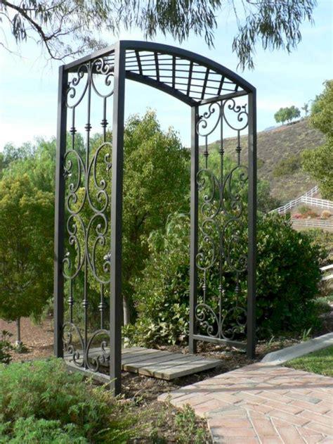 Metal Arbors And Trellises by 15 Metal Garden Arbors And Trellises Wartaku Net