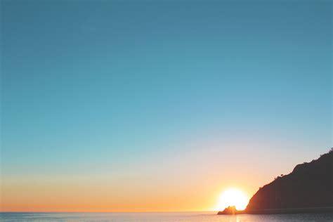 Photo Of Sea On Sunrise · Free Stock Photo