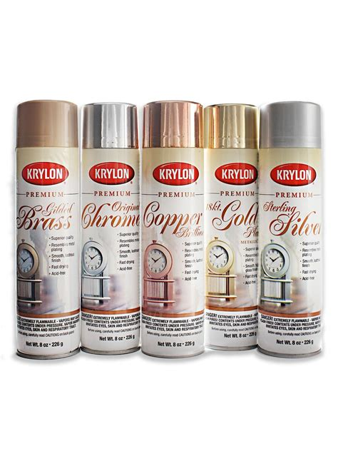 krylon premium metallic spray paint metallic spray paint
