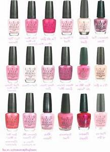 Opi Gel Nail Polish Color Chart Opi Gel Color Chart My Style In 2019 Opi Gel Nail
