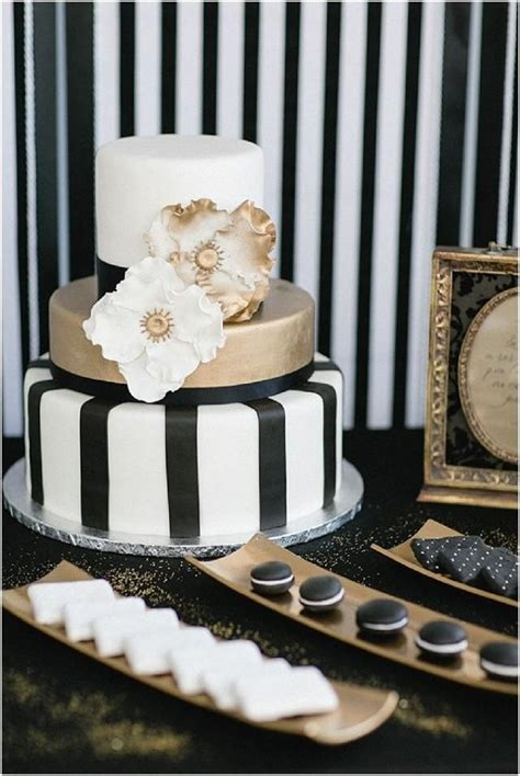 opulent black and gold wedding ideas with a pop of pink 2194318 weddbook