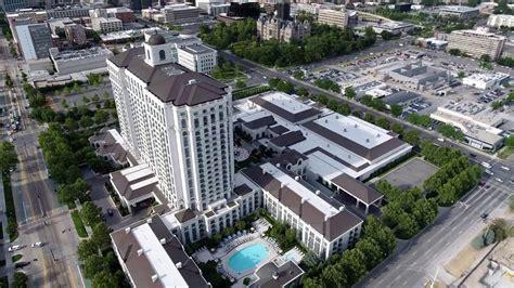 downtown salt lake city  grand america hotel july