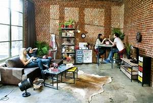 Deco Industrielle Pas Cher : meuble tv biblioth que design en 50 id es inspirantes ~ Teatrodelosmanantiales.com Idées de Décoration