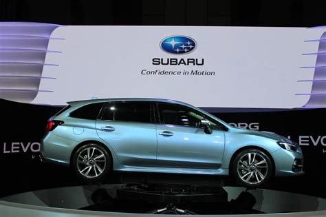 Subaru Levorg Performance Wagon Concept Debuts At 2018