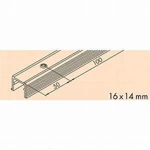 rail bas de guidage pour porte coulissante regal a 25 With rail bas porte coulissante