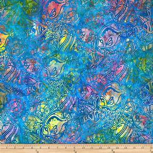 Artisan Batiks Totally Tropical Fish Regatta - Discount ...