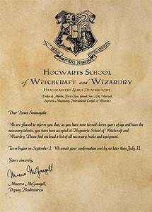 create personalized hogwarts acceptance letter by With personalised hogwarts acceptance letter