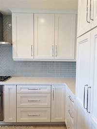 kitchen cabinets handles Kitchen remodel using Lowes Cabinets - Cre8tive Designs Inc.