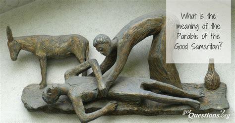 meaning   parable   good samaritan