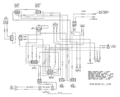dixon 4515b 2004 parts diagram for wiring