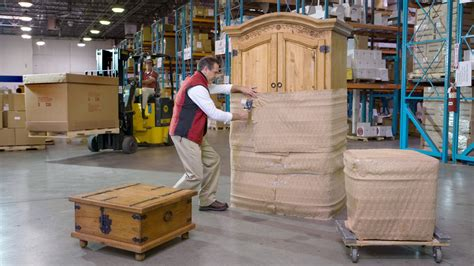 ship furniture  freight packing crating shipping