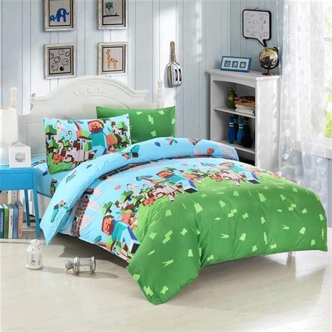 minecraft comforter set 2015 uk and usa size minecraft 3d bedding
