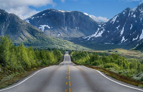 Car Wallpaper Hd 1920x1080 Nature Png by Nature Landscape Road Mountains Trees Snow Shrubs