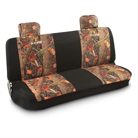 bench seat covers for trucks king s camo camouflage bench seat cover 593118 seat