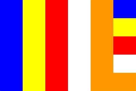 flag colors buddhist flag