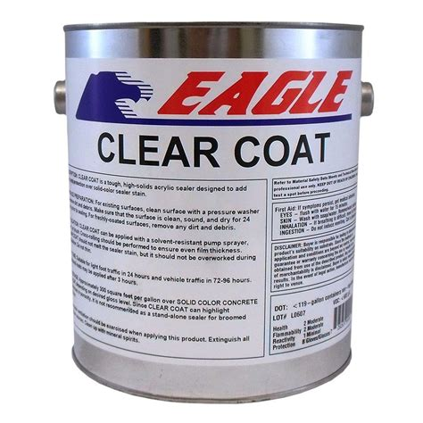 eagle  gal gloss coat clear wet  solvent based