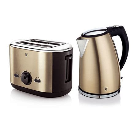 toaster und wasserkocher wmf cashmira fr 252 hst 252 cks set wasserkocher toaster page 1 qvc de