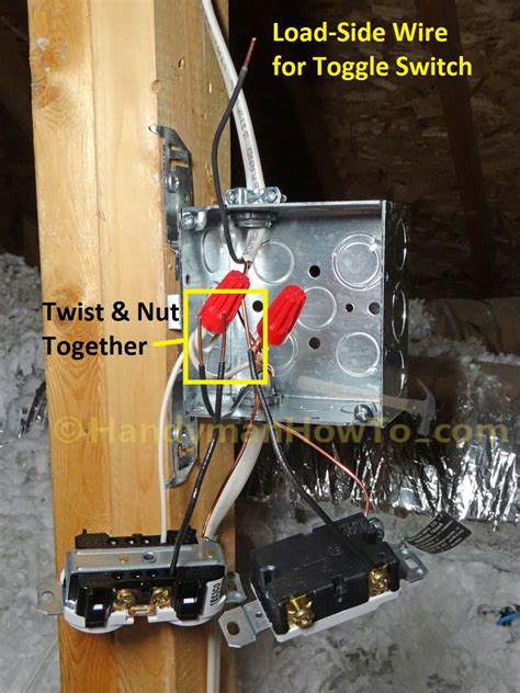 how to wire an attic electrical outlet and light how to wire an attic electrical outlet and light