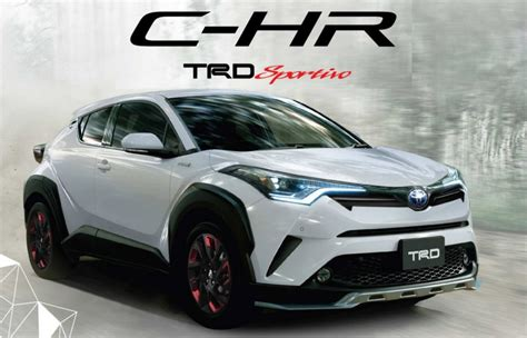 Toyota Chr Hybrid Modification by มาแล ว Toyota Chr Trd Sportivo ช ดแต งแท Official จาก