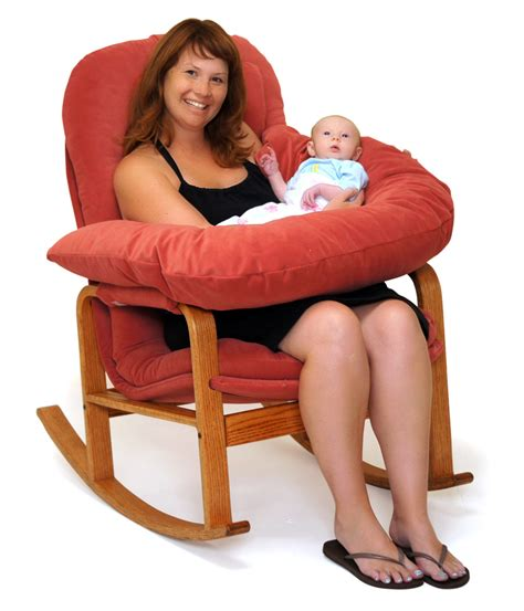 rocker with nursing kit brigger furniture by klein design
