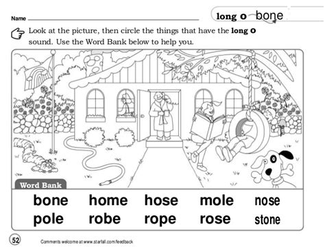 Long O Silent E Worksheets Worksheets For All  Download And Share Worksheets  Free On