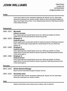 free basic resume template resume ideas With free basic resume builder