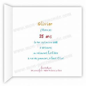 Texte Anniversaire 1 An Garçon : texte invitation anniversaire akila ~ Melissatoandfro.com Idées de Décoration