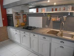 But Meuble De Cuisine : peindre meuble de cuisine en chene images ~ Dailycaller-alerts.com Idées de Décoration