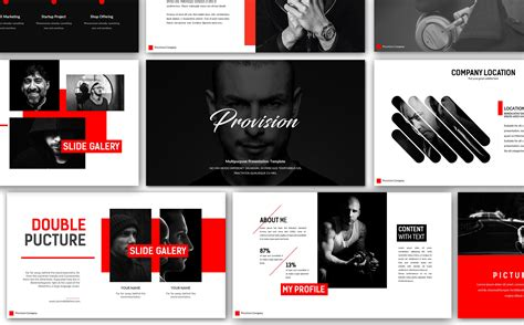 provision creative  powerpoint template