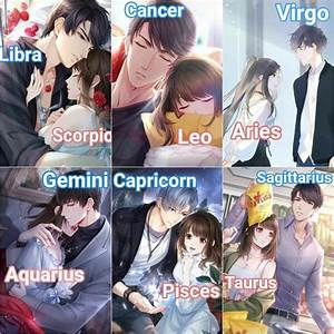 Pin By Priscilla Smith On Couple Zodiac Anime Characters