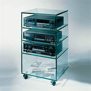 Tv Regal Glas : glass concept stereo rack 1 hifi rack bei hifi tv ~ Eleganceandgraceweddings.com Haus und Dekorationen