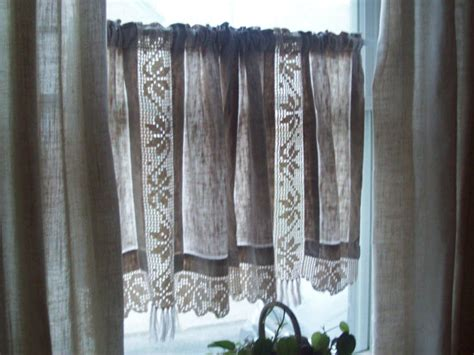 Beautiful Linen Café Curtains For Windows Red And Yellow French Country Curtains Cool Curtain Rod Ideas Burnt Orange Colored Creative Shower Rods Noise Barrier For Home Use Tall Windows Bedroom Window Panels Diamond Crystal Beaded