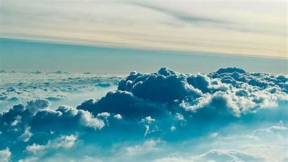 Desktop Cloud Background Above Nature Clouds Wallpapers