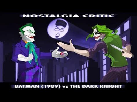 nostalgia critic batman   dark knight youtube