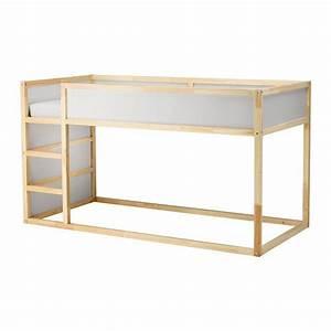Lit Haut Ikea : kura lit r versible blanc pin 90x200 cm lit haut kura et ikea kura ~ Teatrodelosmanantiales.com Idées de Décoration