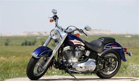 Harley Davidson Heritage Softail Review by 2006 Harley Davidson Flst I Heritage Softail Picture
