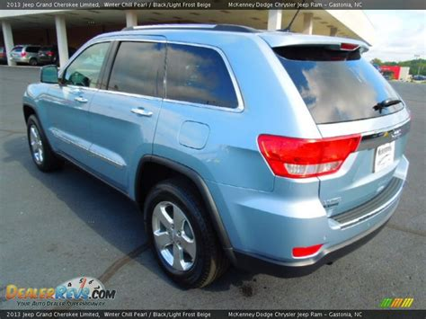 light blue jeep grand cherokee 2013 jeep grand cherokee limited winter chill pearl