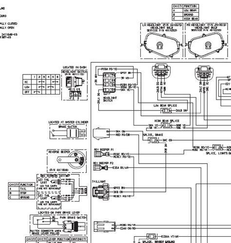 stock headlight switch wiring diagram