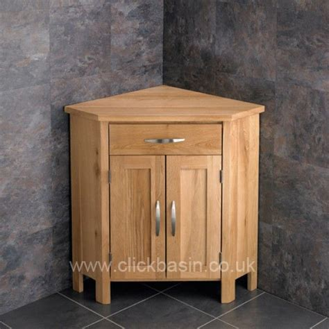 Oak Corner Bathroom Cabinet by Corner Bathroom Vanity Oak Frosted Basin