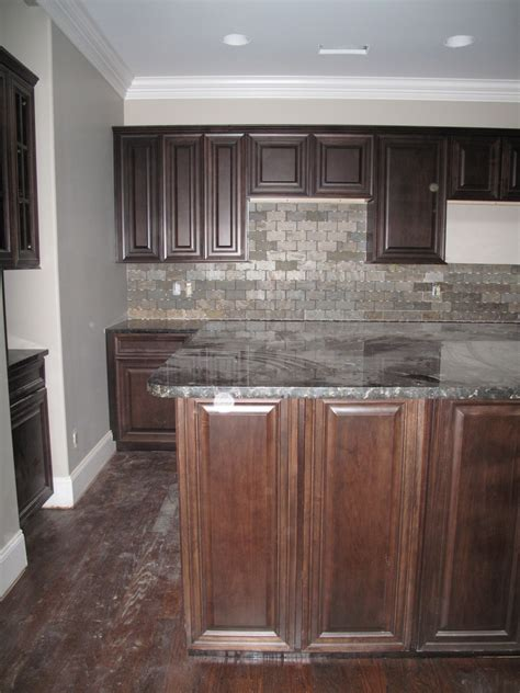 gray wood kitchen cabinets fabulous dark wood kitchen cabinet set with grey stones