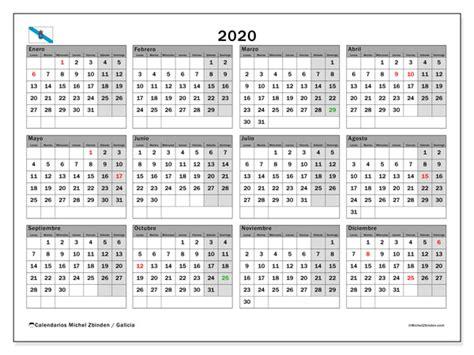 calendario galicia espana michel zbinden es