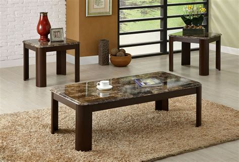 marble top coffee table set vernon marble top coffee table set