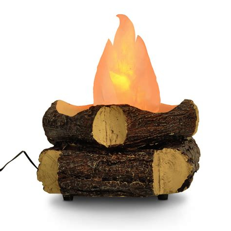 Artificial Flames For Fireplace - novelty led artificial silk wood log effect