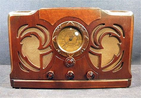 tv möbel retro packard bell 36 1934 radio antique radio retro