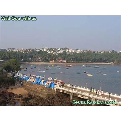 Tourist Attraction India: Beautiful Dona Paula Beach Goa