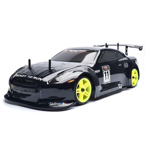 Hsp Drift Car 1/10 Scale Models 4wd Nitro Gas Power On