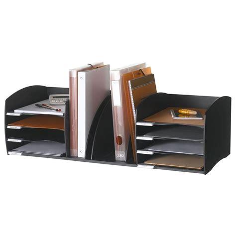 organiseur de bureau paperflow organiseur de bureau 8 cases noir module de