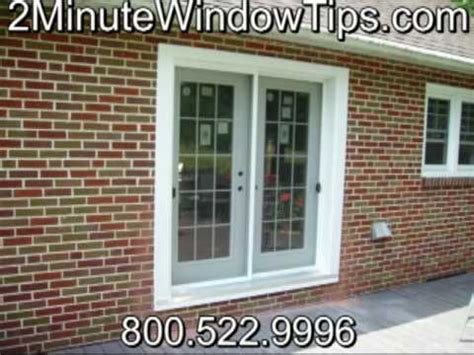 2minutewindowtips open brick wall add patio door