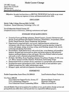 Customer Service Manager Cover Letter Dental Technician Resume Sample Http Www Resumecareer