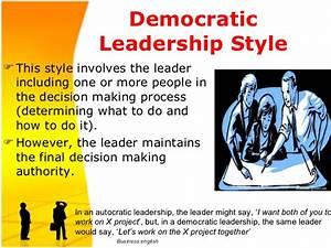 Leadership presentation